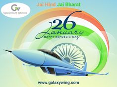 Galaxywing It Solutions is a leading web design, web development & web marketing company in India, specialize in mobile application, eCommerce web development & digital marketing services. 26 January Wallpaper, Republic Day, Web Development Company, Freedom Fighters, Day Wishes, Digital Marketing Services, Hd Images, Web Design, Greeting Cards