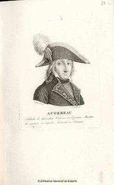 [Retrato de Pierre François Charles Augereau]. Amills, Juan m. 1854 — Grabado — 1801-1900?
