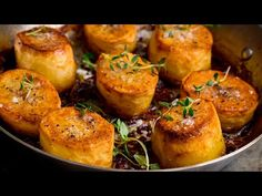 (339) My New Favourite Way To Cook Potatoes! | Easy Fondant Potatoes Recipe - YouTube