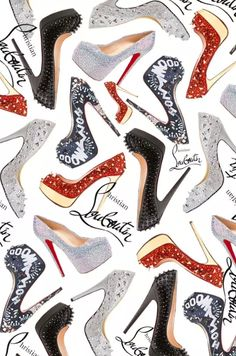 ImageFind images and videos about wallpaper, iphone and louboutin on We Heart It - the app to get lost in what you love. Sassy Wallpaper, Shoes Wallpaper, Fashion Wallpaper, Cartoon Wallpaper, Wallpaper Backgrounds, Wallpaper Quotes, Cellphone Wallpaper, Iphone Wallpaper, Decoupage