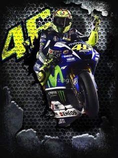 Valentino Rossi Valentino Rossi Helmet, Valentino Rossi Logo, Motogp Valentino Rossi, Marc Marquez, Stock Car, Biker Quotes, Nascar, Yamaha Yzf R6, Vr46