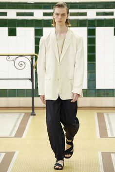 lemaire - spring 2017 menswear