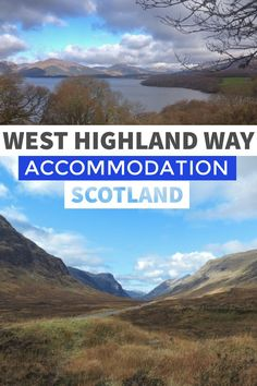 West Highland Way accommodation list includes hotels, hostels and campsites along the 96 miles of Scotland's most scenic hike taking you from Milngavie to Fort William. Scotland Hiking, Scotland Travel, Ireland Travel, Scotland Vacation, Scotland Trip, Cool Places To Visit, Places To Travel, Travel Destinations, Europe Places