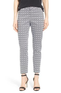 Free shipping and returns on NYDJ 'Corynna' Print Stretch Sateen Slim Ankle Pants (Regular & Petite) at Nordstrom.com. Designed with the same flattering fit as their jeans, NYDJ offers a more polished alternative with stretch-woven pants in a slim, ankle-baring silhouette. Of course, they utilize exclusive lift-tuck technology to help flatten the tummy and lift the rear.