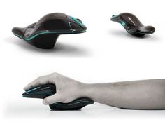 Ergonomic Mouse shows a unique form to allow for its useful function. Electronics Gadgets, Tech Gadgets, Restaurant Menu Design, Pc Mouse, Screen Design, Ergonomic Mouse, Glass Design, Industrial Design, Computer Mouse