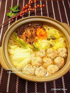 柚子こしょう入り 豆腐れんこん肉団子鍋 by 庭乃桃 | レシピサイト「Nadia | ナディア」プロの料理を無料で検索
