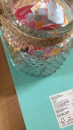 """My friend moved out on her own for the first time...created her a jar of happiness in case she gets lonely or sad. It has tips, quotes, memories and """"vouchers"""""""