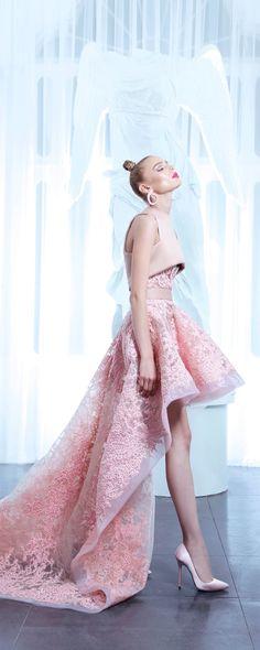 Nicolas Jebran Spring-summer 2015 - Couture - http://www.orientpalms.com/Nicolas-Jebran-5749