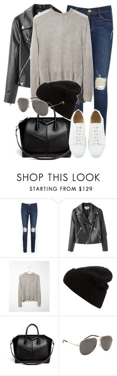 """""""Untitled #1856"""" by annielizjung ❤ liked on Polyvore featuring Frame, Acne Studios, Hope, Givenchy and Yves Saint Laurent"""