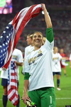 Hope Solo. (Getty Images)