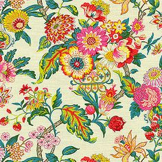 Waverly Fabric Graceful Garden Spring 677501 - My Fabric Connection