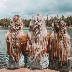 braids - 50 braided hairstyles for this spring season 2019 hairstyle woman for spring 8 Hair Inspo, Hair Inspiration, Travel Inspiration, Cabelo 3c 4a, Coiffure Hair, Grunge Hair, Dream Hair, Pretty Hairstyles, Beach Hairstyles