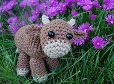 crochet cow pattern free - Google Search.  FREE PATTERN 12/14.