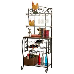 Found it at Wayfair - 21 Bottle Floor Wine Rack
