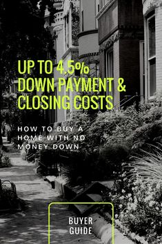 Did you know that you can get up to 4.5% down payment and closing costs to buy a home in Maryland, Virginia and DC? There is money for you. Go to www.reshawnaleaven.com/financethedream for more information