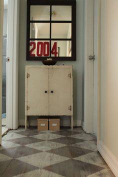 VanHook & Co.: Annie Sloan's Chalk Painted Floor love the floors