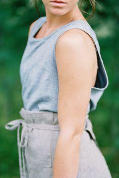 French farm girl style
