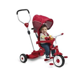 Radio Flyer Ride & Stand 4 in 1 Trike
