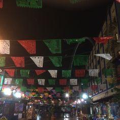 papel picado in Tijuana