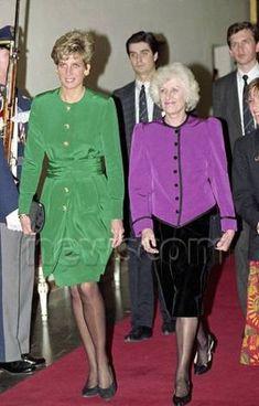 Diana & Charles - Prague * Czechoslovakia _ ... /08  Mai 1991 ( SUITE )