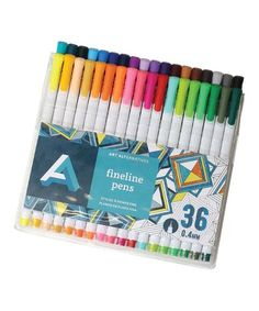 Another great find on #zulily! 36-Ct. Fine-Liner Pens #zulilyfinds