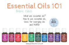 Essential Oils 101 Class || Learn what essential oils are, how to use them, uses for everyday oils and more! http://www.aprilmasterson.com/essential-oils-101-class/