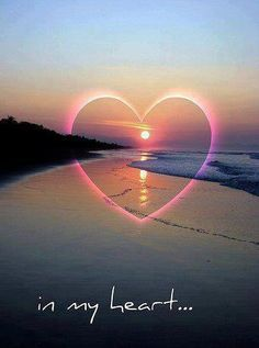 Love in my heart forever Heart In Nature, Heart Art, I Love Heart, Happy Heart, Heart Images, Heart Pictures, Love Wallpaper, Belle Photo, Beautiful Pictures
