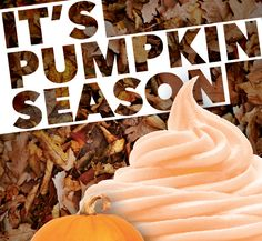 Enjoy Pumpkin at select Cups Locations! #FallFlavors