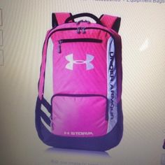 372a966cb9f5 Under Armour Hustle Backpack Pinkadelic One Size! Free Shipping!  shopsmall  BUY NOW  69.95