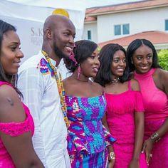 African Love, African Wear, African Fashion, African Style, Ghanian Wedding, Kente Dress, Kente Styles, Ankara Designs, Traditional Wedding