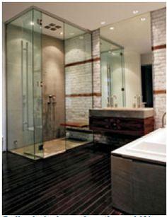 salle de bain mélange des produits