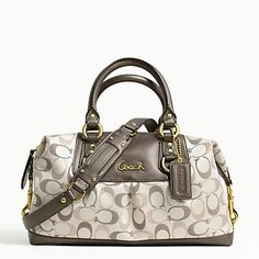 ASHLEY 3 COLOR METALLIC SIGNATURE SATCHEL - NEW ARRIVALS - The New Ashley Event