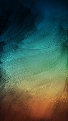 Paint Brush Strokes Blue Brown Stock Smartphone Android Wallpaper