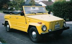 "Volkswagen Thing.  This vehicle was produced between 1969 – 1983 and 90,883 were built. The car's name didn't help its appearance either, ""thing""."
