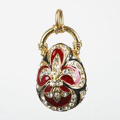 Faberge (Faberge Style :) Pendant Egg