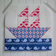 True Blue Quilt Block