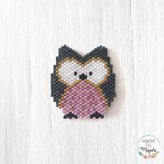 25. Gün / Day 25: Baykuş / Owl #baykuş #baykus #owl #woodlandanimals #accesoriosDArt #25 #hergune1miyuki #hergüne1miyuki 🔎 pattern from: @accesorios_d_art 🙏🏻👌🏻
