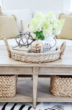 THE ELEMENTS OF DECOR. BALANCE- This is the first in a weekly series discussing the elements of decorating. Balance is an important decor element. Crafty Ideas, Living Room Grey, Living Room Decor, Cottage Design, House Design, Casas Shabby Chic, Boho Home, Home Furnishings, Farmhouse Decor