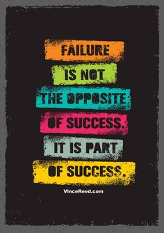 Wallpaper quotes - Failure Is Not The Opposite Of Success It Is Part Of Success Inspiring Creative Motivation Quote Vector Typography Banner Design Concept Swag Quotes, True Quotes, Funny Quotes, Smile Quotes, Sport Quotes, Quotes Quotes, Badass Quotes, Qoutes, Motivational Quotes Wallpaper