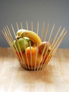 Someday Crafts: Chopsticks Bowl!!!! (Cool!)