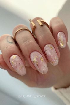 Best Acrylic Nails, Acrylic Nail Designs, Nail Art Designs, Neutral Nail Designs, Nail Designs Spring, Round Nail Designs, Light Pink Nail Designs, Gel Manicure Designs, Almond Nails Designs