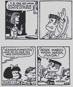 Manolito meu filho eu te entendo!  #TMJ #DesdeFebrero #oficinadamafalda #projeto #estagio #mafalda #quino #manolito by tissianemena