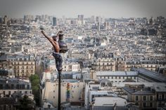 On top of the world - Montmartre, Paris. Photo taken by Claudio Cavalensi