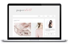 Responsive WP Theme - Paperdoll by Light Morango on Creative Market