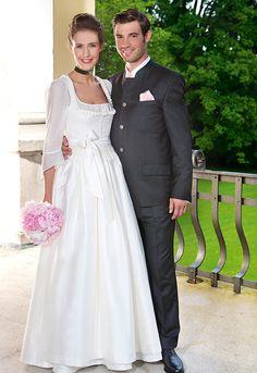 Hochzeitsdirndl für die Braut von Gössl Salzburg - Doris Binder