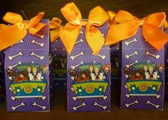 scooby doo party ideas | No fondant here. These are all milk truffles!!! Not only a beautiful ...