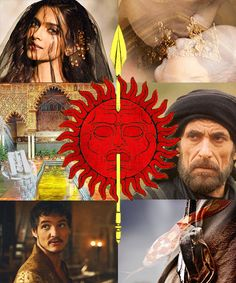 House Martell: Elia Martell: The Queen that should have been. Doran Martell: The Grass that hides the Viper. Oberyn Martell: The Red Viper.