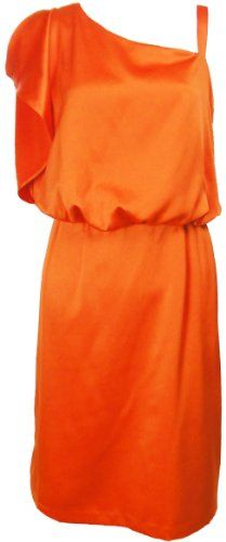 Jessica Simpson Charmeuse Flutter Sleeve Dress (6, Red Clay Orange) [Apparel] Jessica Simpson,http://www.amazon.com/dp/B0071CT4ZC/ref=cm_sw_r_pi_dp_3vWqtb0BVZA4SQMZ