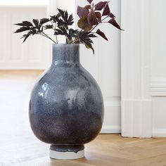 The decorative ceramic floor vase is the product of the collaboration between Kähler and Anders Arhøj. Unico is a range of unique ceramic design products. Ceramic Decor, Ceramic Design, Ceramic Art, Moon Jar, Tall Floor Vases, Kinds Of Shapes, Shop Window Displays, Plant Wall, Danish Design