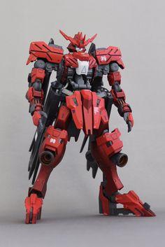 Gundam Toys, Gundam Art, 3d Character, Character Design, Gundam Vidar, Battle Robots, Gundam Iron Blooded Orphans, Mecha Suit, Strike Gundam